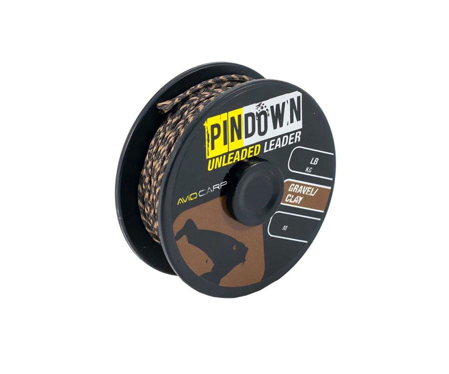 avid carp Ледкор Avid Carp Pin Down Unleaded Leader Gravel/Clay 45 lb