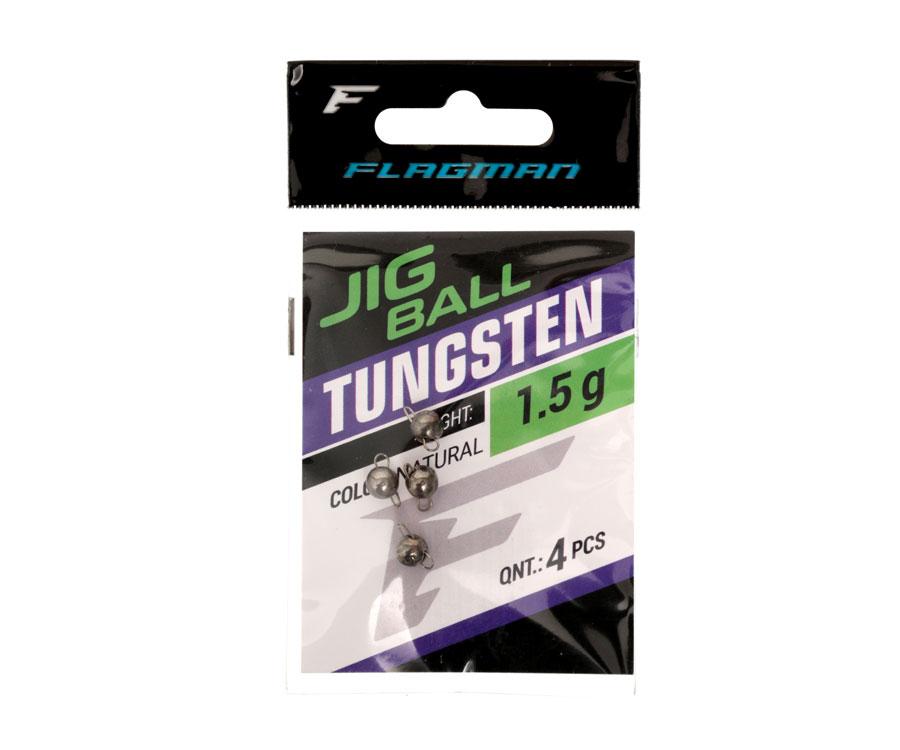 Грузило вольфрамовое Flagman Tungsten Jig Head 1.5г