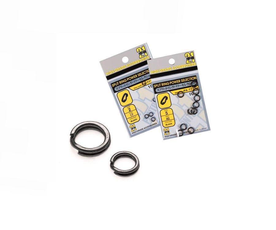 Кольца заводные Pontoon 21 Power Selection Black  #2