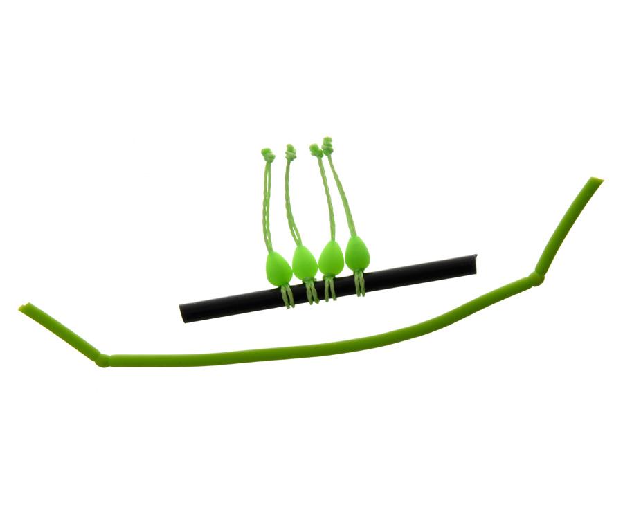 Купить Коннекторы для монтажа, Конектор для штекера Flagman Dacron Connector Green Small