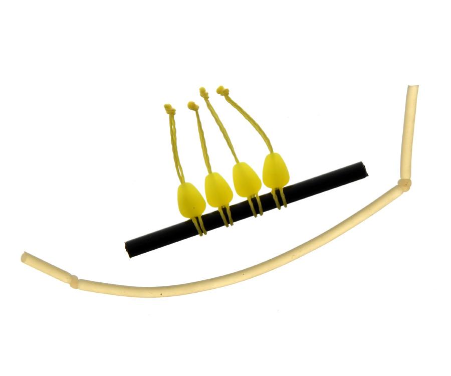 Купить Коннекторы для монтажа, Конектор для штекера Flagman Dacron Connector Yellow Medium
