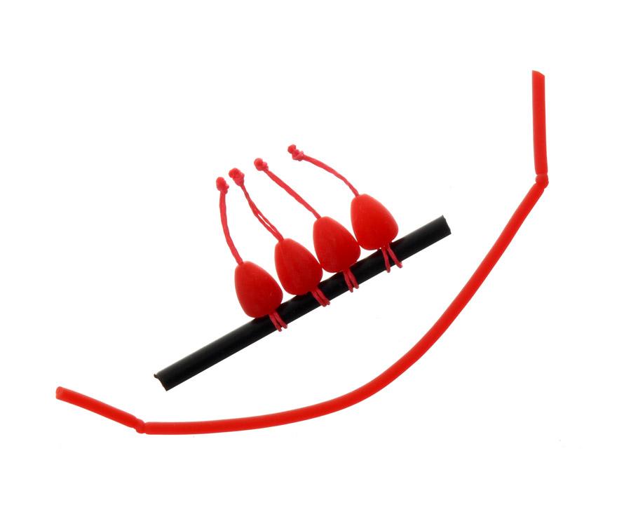 Купить Коннекторы для монтажа, Конектор для штекера Flagman Dacron Connector Red XLarge