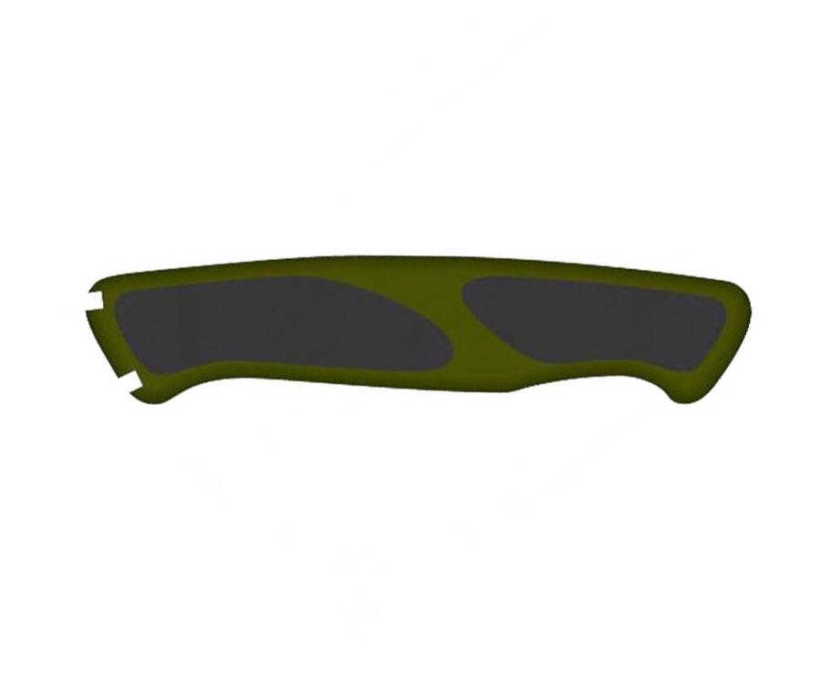 Задняя накладка ручки ножа Victorinox 13см зелено/черная