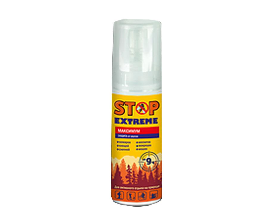 Лосьон от комаров Stop Extreme Максимум 100мл