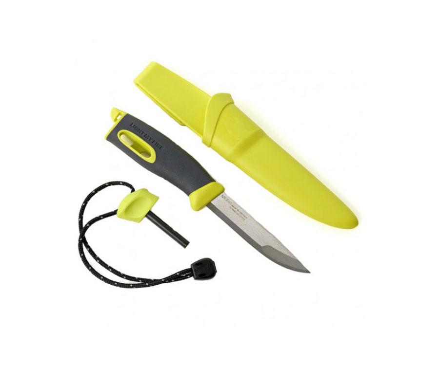 Нож-огниво Light My Fire FireKnife Pin-pack лайм