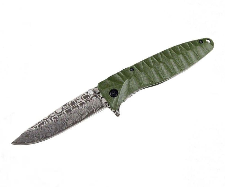 Нож туристический Ganzo G620G-2 зеленый