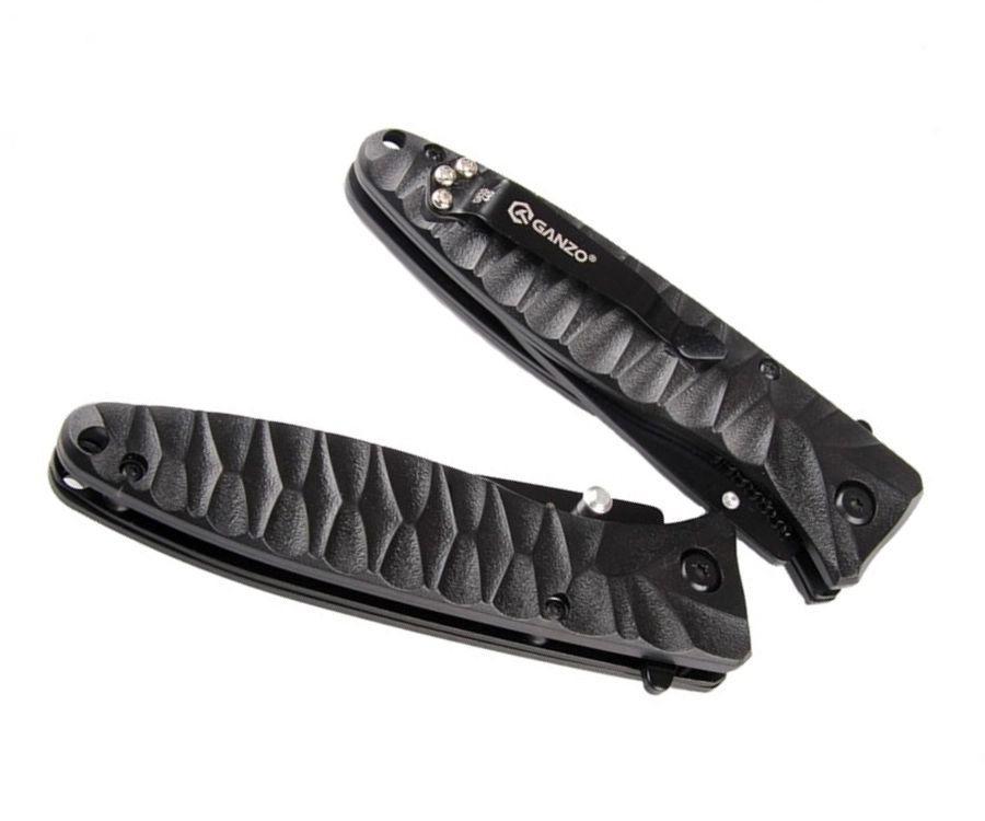 Нож туристический Ganzo G620B-1 черный