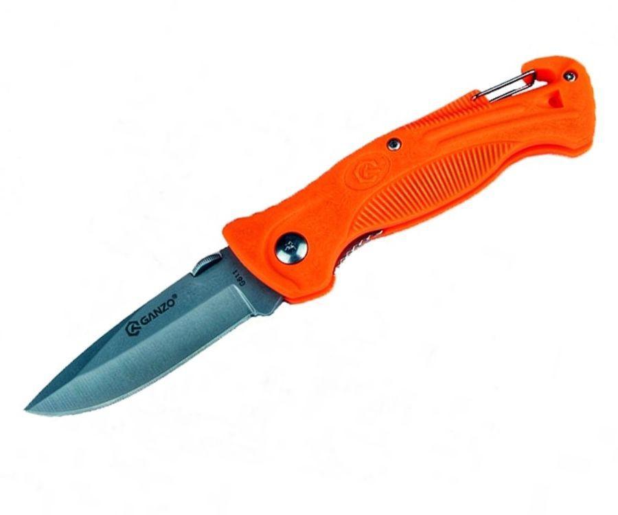 Нож складной Ganzo G611O оранжевый