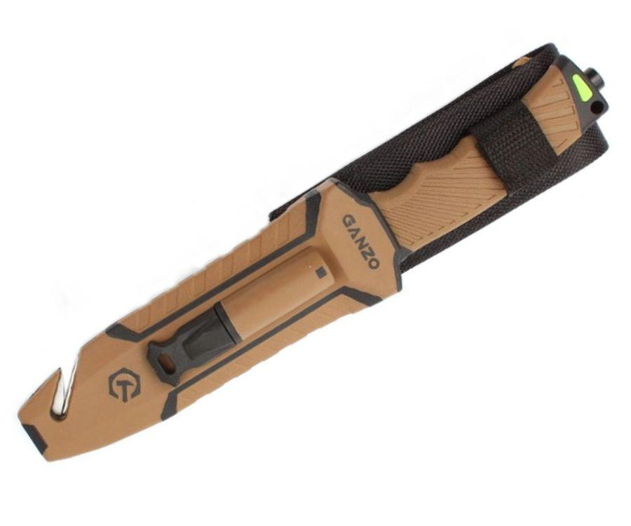 Нож туристический Ganzo G803-DY песочный