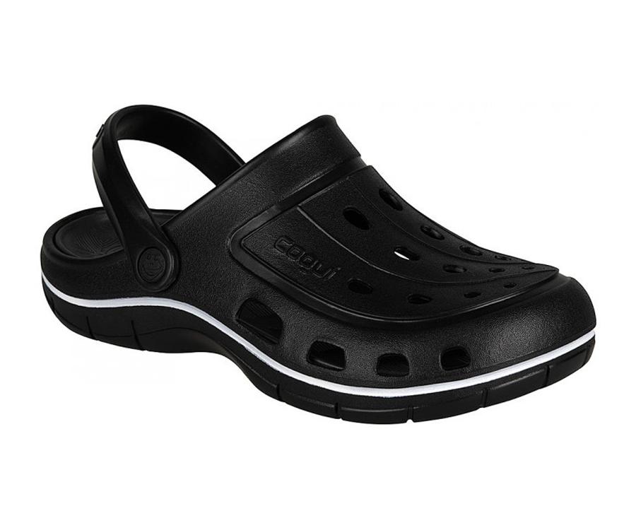 Купить Обувь, Сабо Coqui 6351 Black Antracit 43