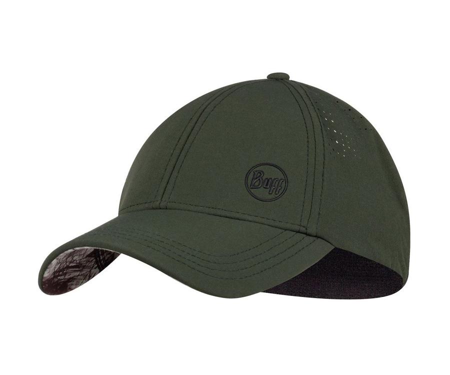 Кепка Buff Trek Cap Hashtag Moss Green L-XL