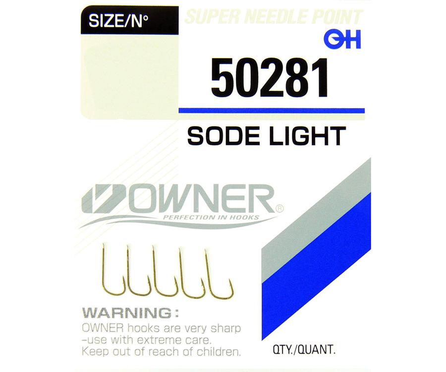 Крючки Owner Sode Light 50281 №15