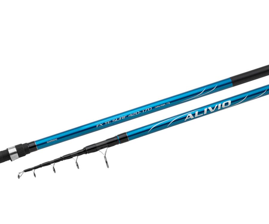 Серфовое удилище Shimano Alivio FX Tele Surf 4.20м 250г