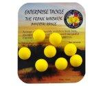 Искусственные бойлы Enterprise Tackle Boilie Yellow Unflavoured 10мм