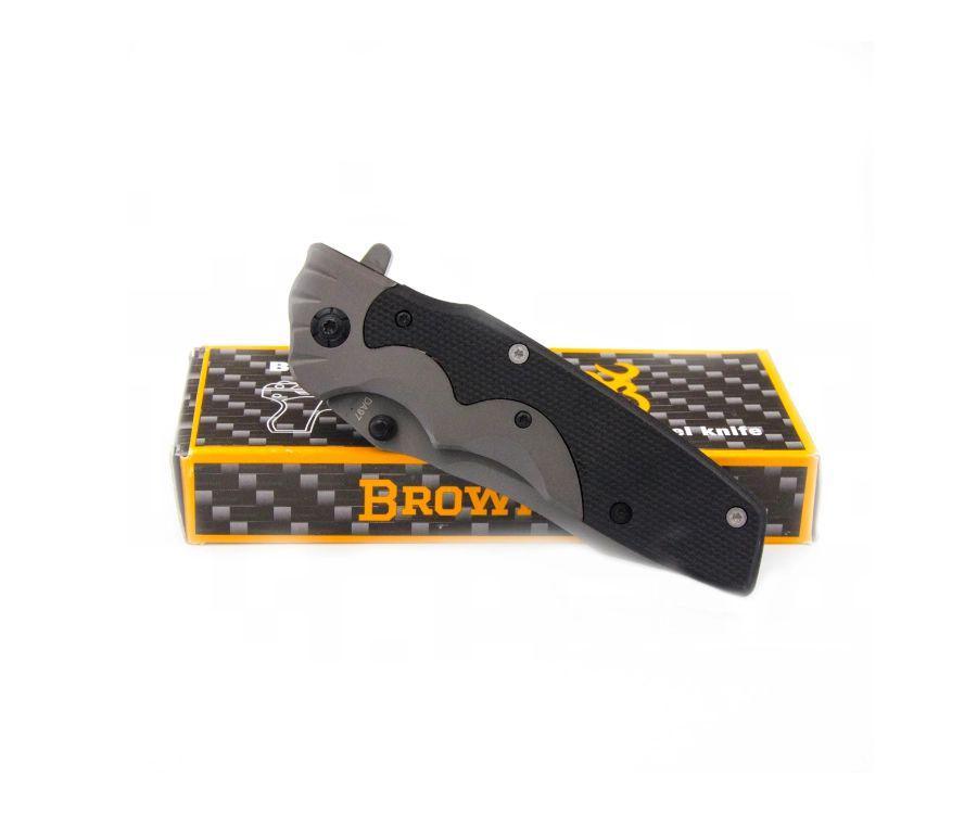 Нож складной Browning DA97 черный