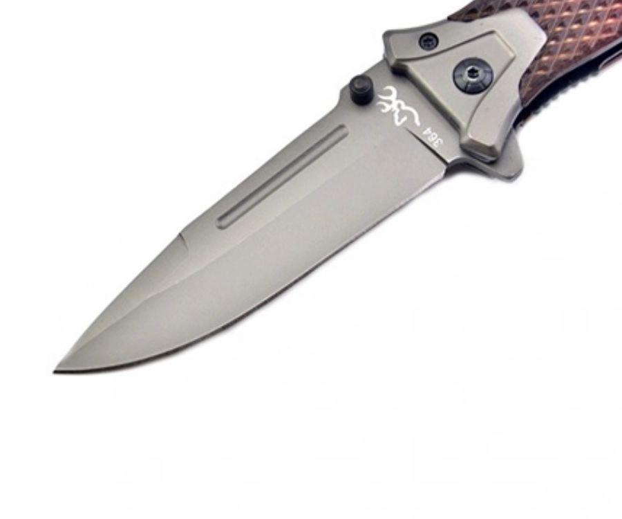 Нож складной Browning B364 коричневый