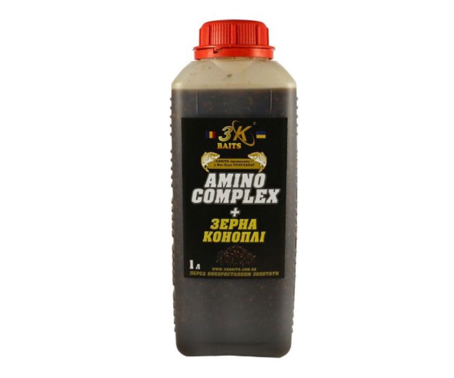 3kbaits Зерна коноплі 3KBaits AminoComplex 1000мл