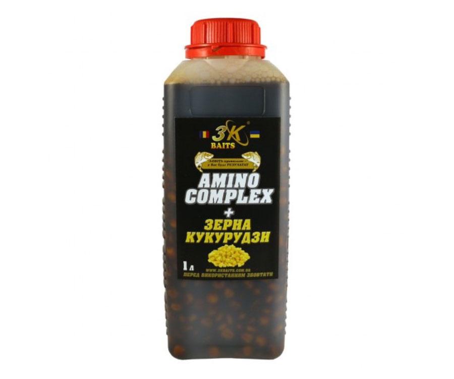Зёрна кукурузы 3KBaits AminoComplex 1000мл