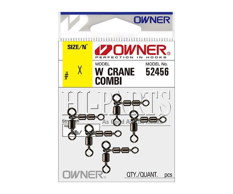 Вертлюг комбинированный Owner W Crane Combi Sviwel 52456 №07x10