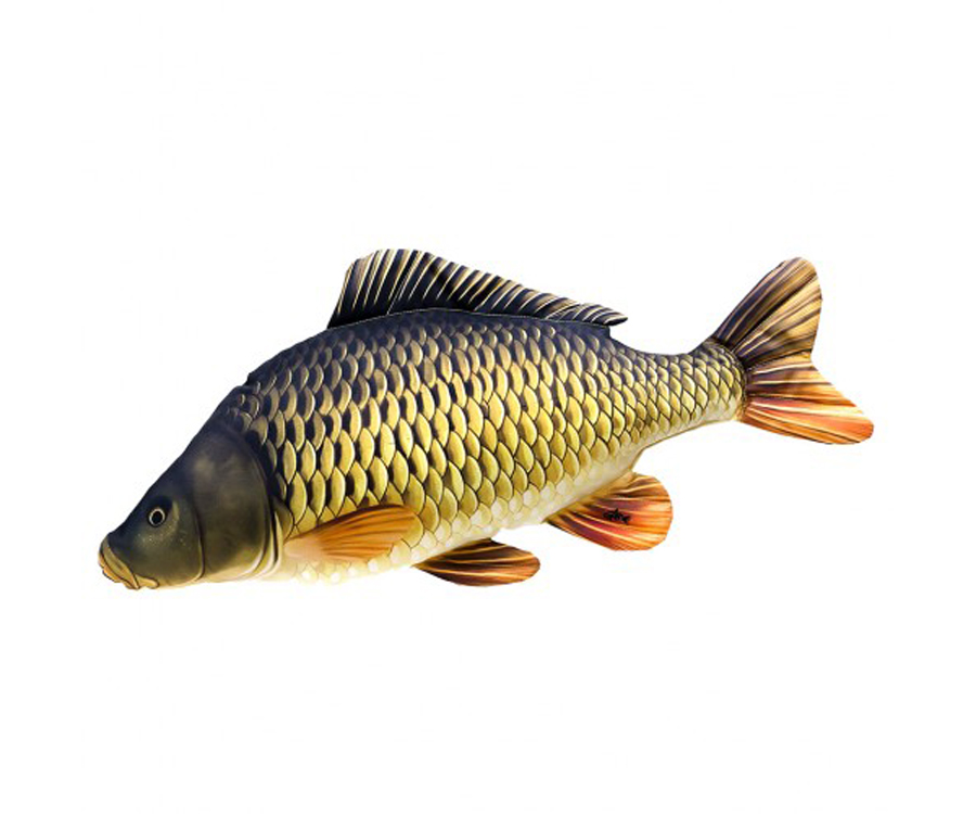 Подушка 3KBaits Рыба Карп 64 х 30см