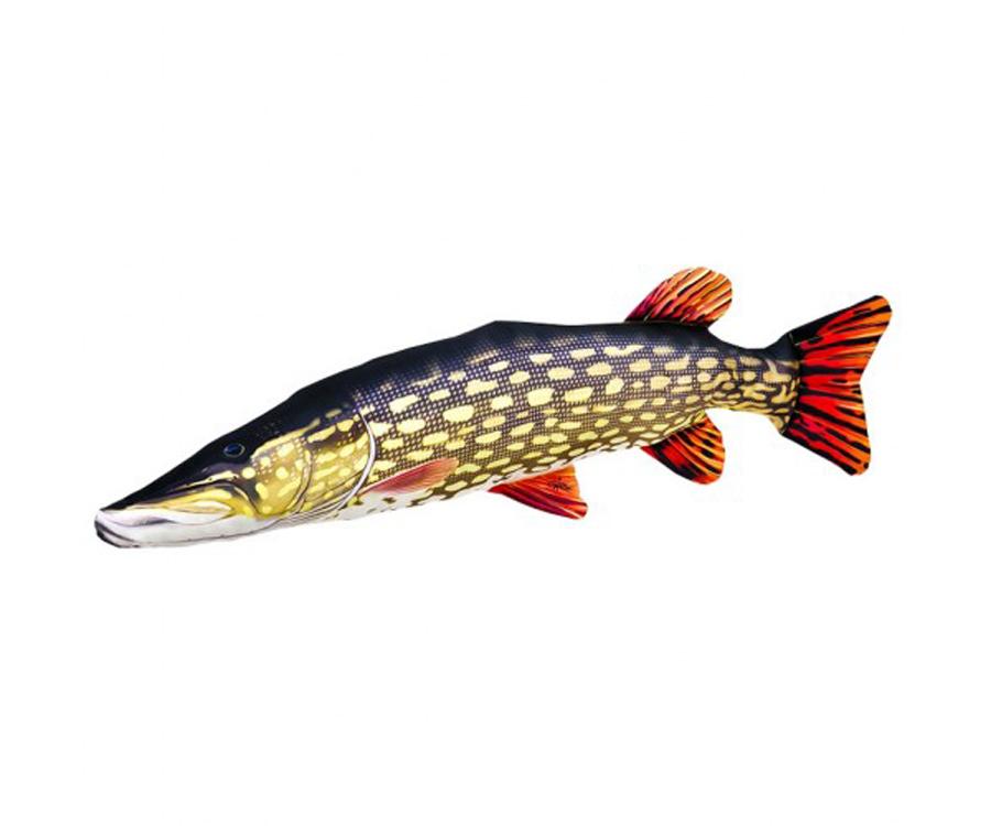 Подушка 3KBaits Рыба Щука 110 х 25см