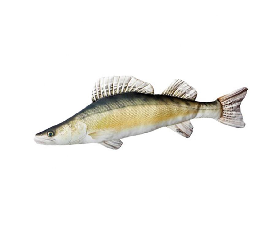 Подушка 3KBaits Рыба Судак 51 х 17см