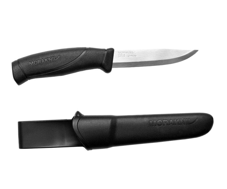 Нож Morakniv Companion Black нержавеющая сталь