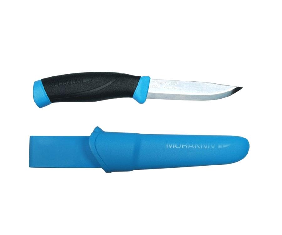Нож Morakniv Companion Blue нержавеющая сталь