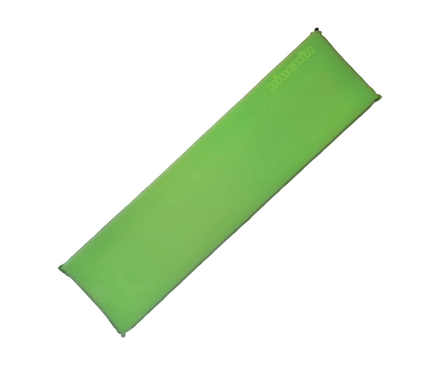 Самонадувающийся коврик Pinguin Horn Long Green 20мм