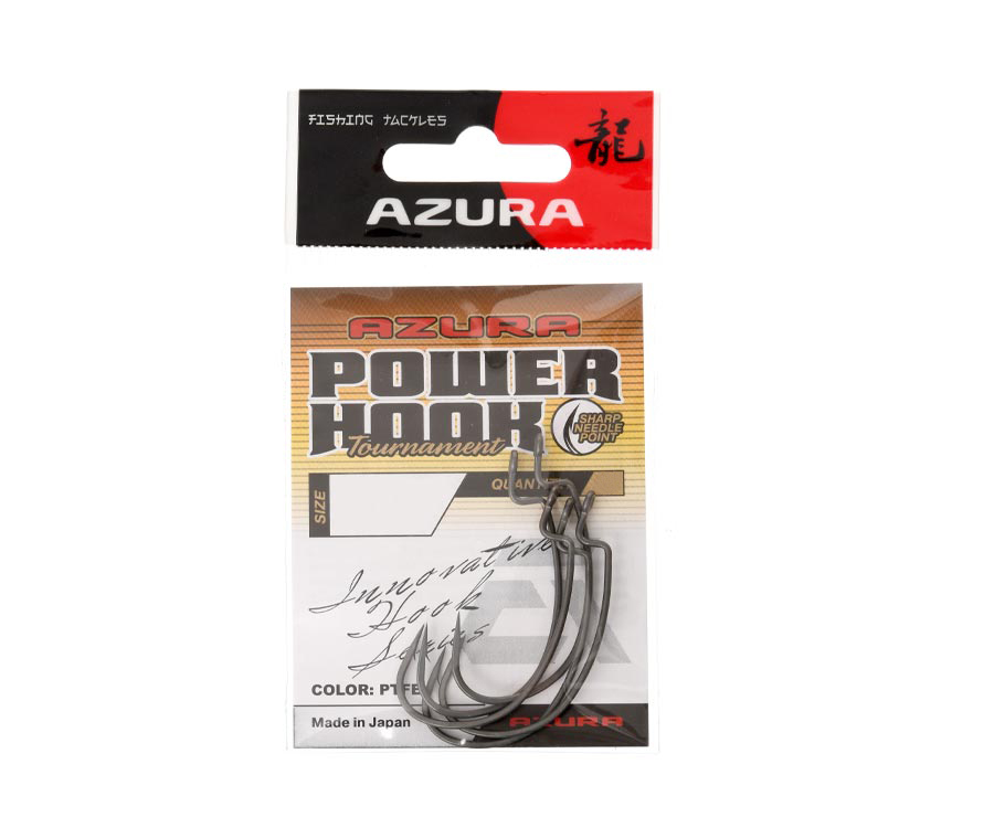 Крючки Azura Tournament Power Hook №8/0