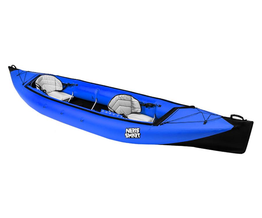 Байдарка каркасно-надувная Neris Smart-2 черно-синяя
