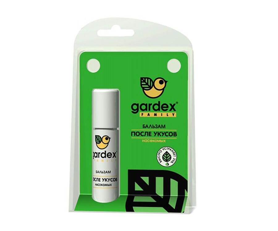 Бальзам после укусов насекомых Gardex Family роликовый 7мл
