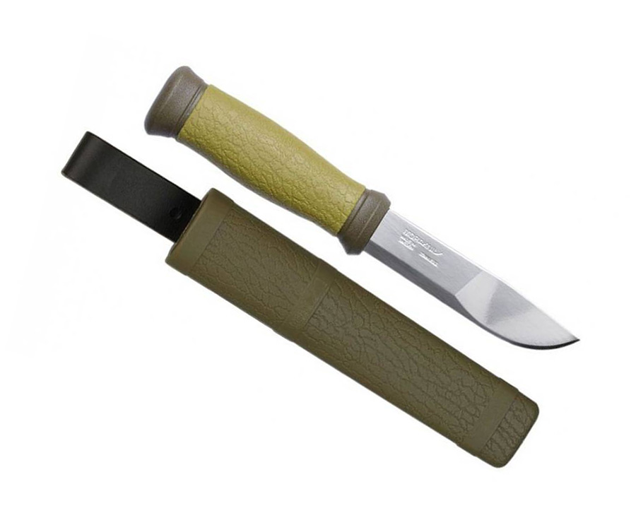 Нож туристический Morakniv Outdoor 2000 Stainless Steel Зеленый