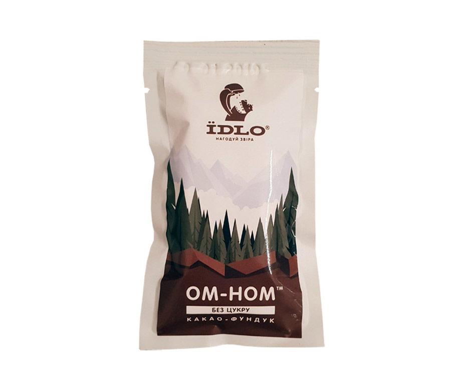 Батончик энергетический ЇDLO ОМ-НОМ какао-фундук