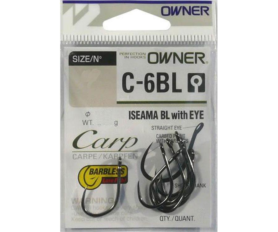 Крючки Owner 53266 Iseama with Eye C-6BL №10