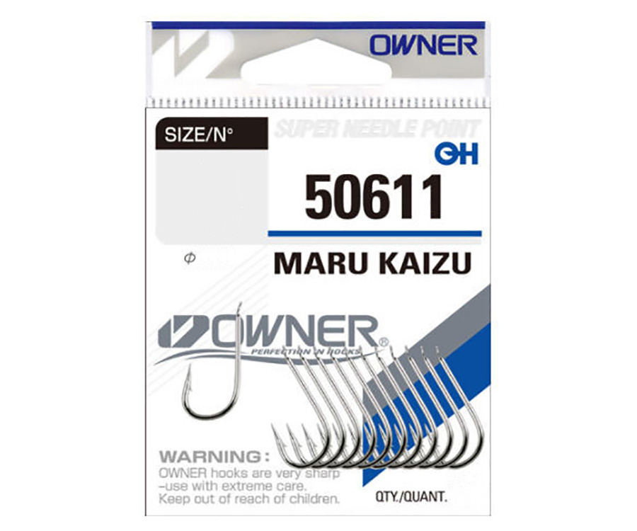 Крючки Owner 50611 Maru Kaizu №1/0