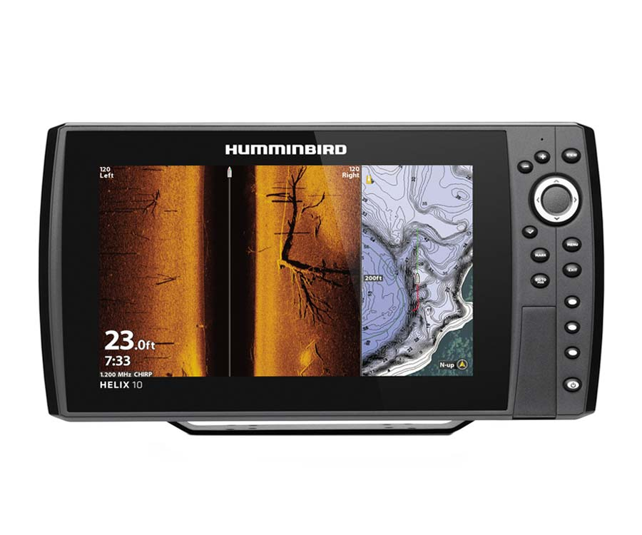 Эхолот Humminbird Helix 10 Chirp Mega SI+ GPS G4N
