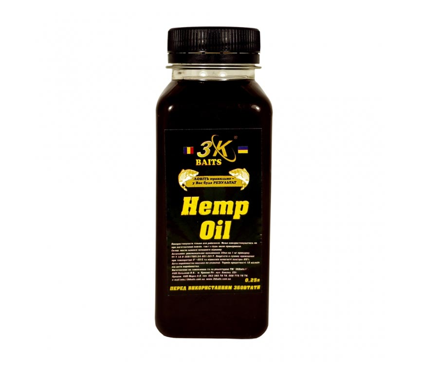 3kbaits Конопляна олія 3KBaits натуральне