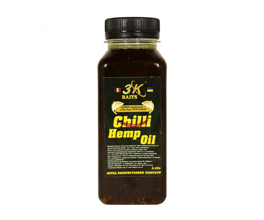 3kbaits Конопляна олія 3KBaits з перцем чилі