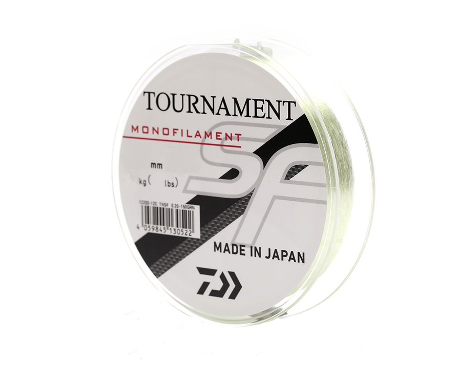 Леска Daiwa Tournament SF Line 0.30мм 300м Light Green