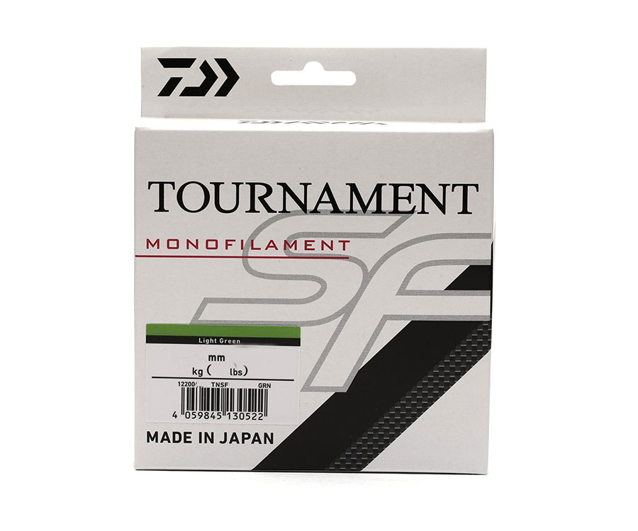Леска Daiwa Tournament SF Line 0.26мм 300м Light Green