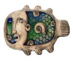 Керамическое панно Keramus Рыба настенная стекло