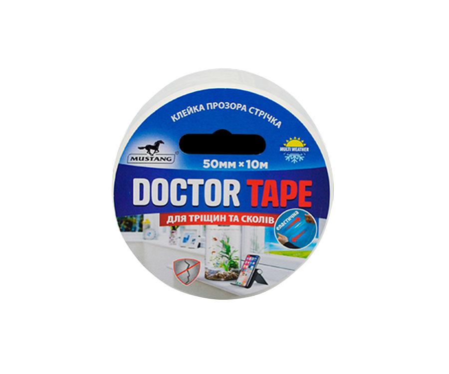 Ремонтная клейкая лента Mustang Doctor Tape 50мм x 10м