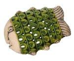 Керамическое панно-светильник Keramus Рыба настенная S