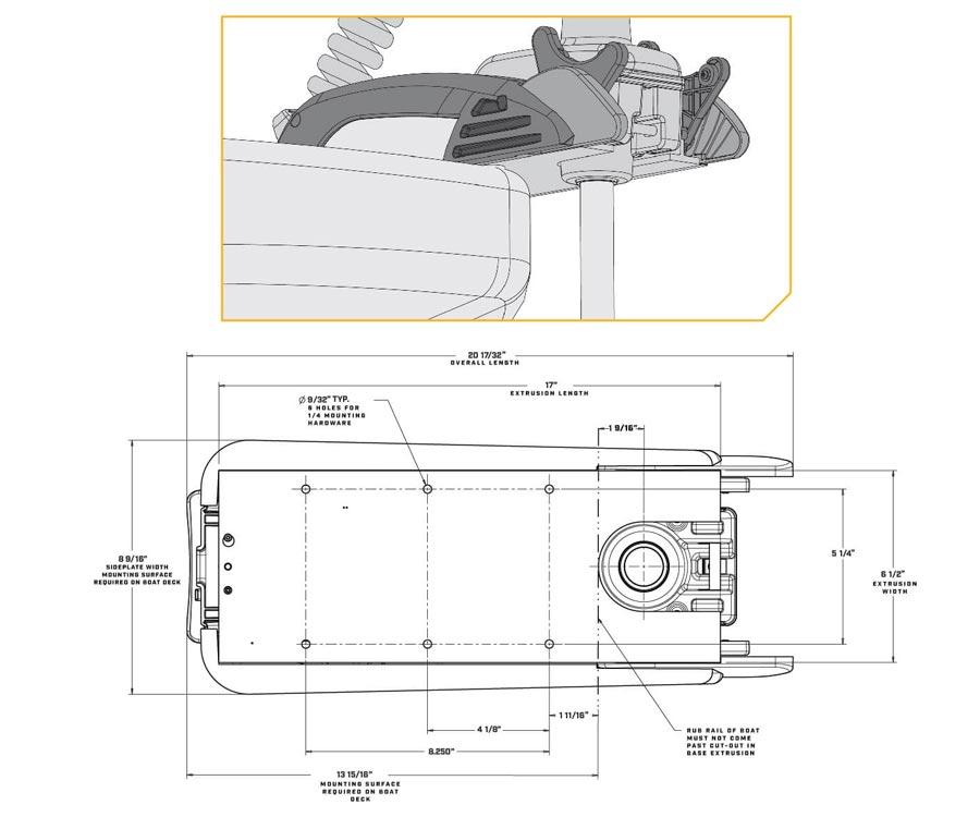 Лодочный мотор электрический Minn Kota RT-Terrova 1363735