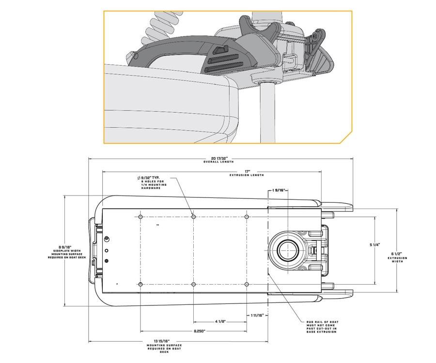 Лодочный мотор электрический Minn Kota RT-Terrova 1363741M