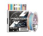 Шнур плетеный YGK Frontier X4 Multicolor 100м #0.8
