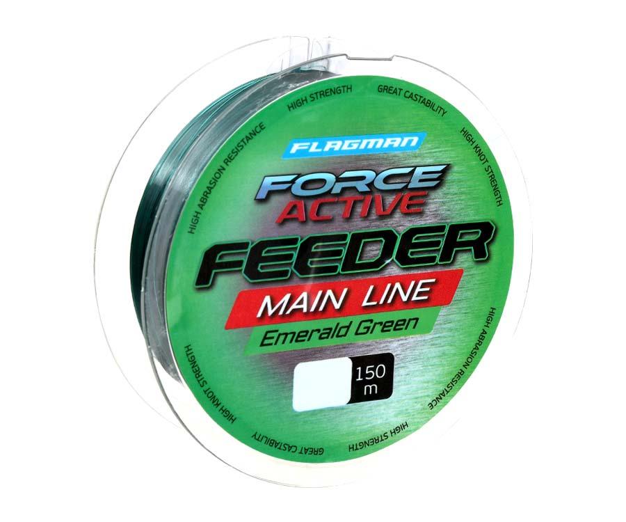 Леска Flagman Force Active Feeder Main Line 150м 0.235мм