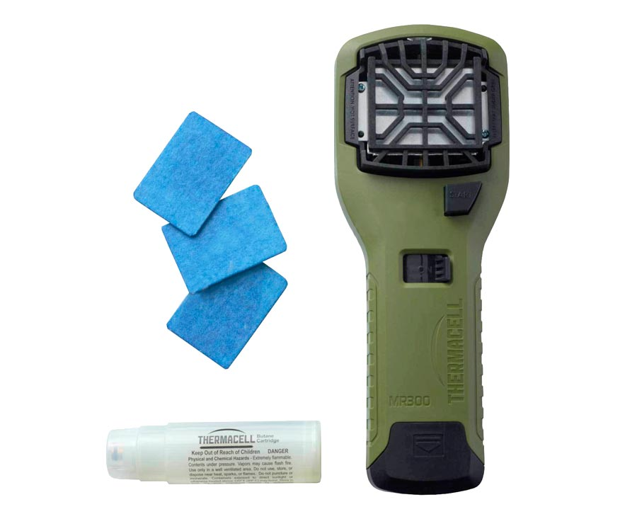 Устройство от комаров Thermacell MR-300 Portable Mosquito Repeller Olive