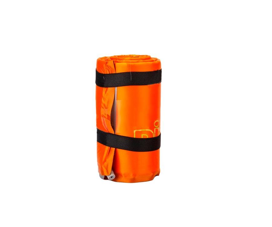 Самонадувающийся коврик Pinguin Horn Long 20 Orange